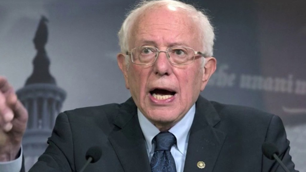 Bernie Sanders claims 'far-left agenda' supported by 'the majority of American people'