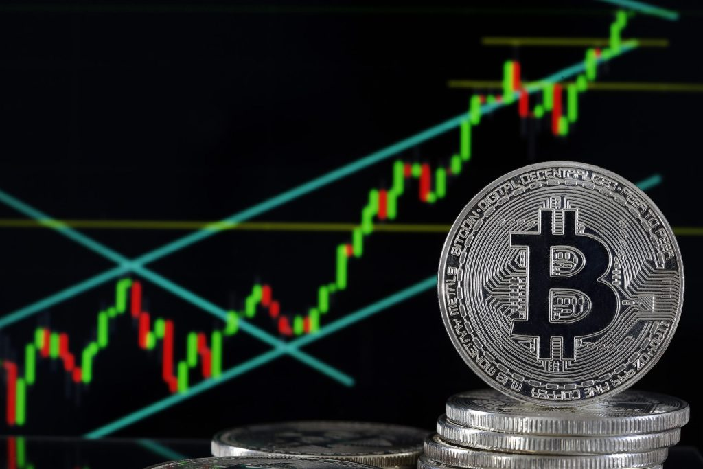 Bitcoin price hits highest level since January 2018
