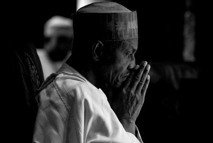 Buhari sad again 1