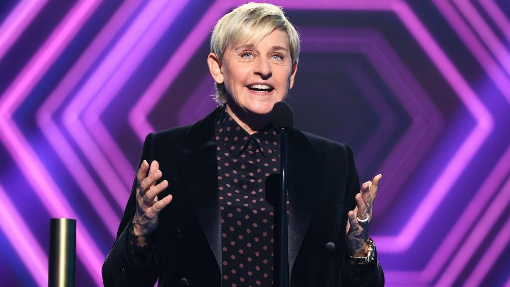 Ellen DeGeneres critics puzzled after she thanks staff for People's Choice Award win amid controversy