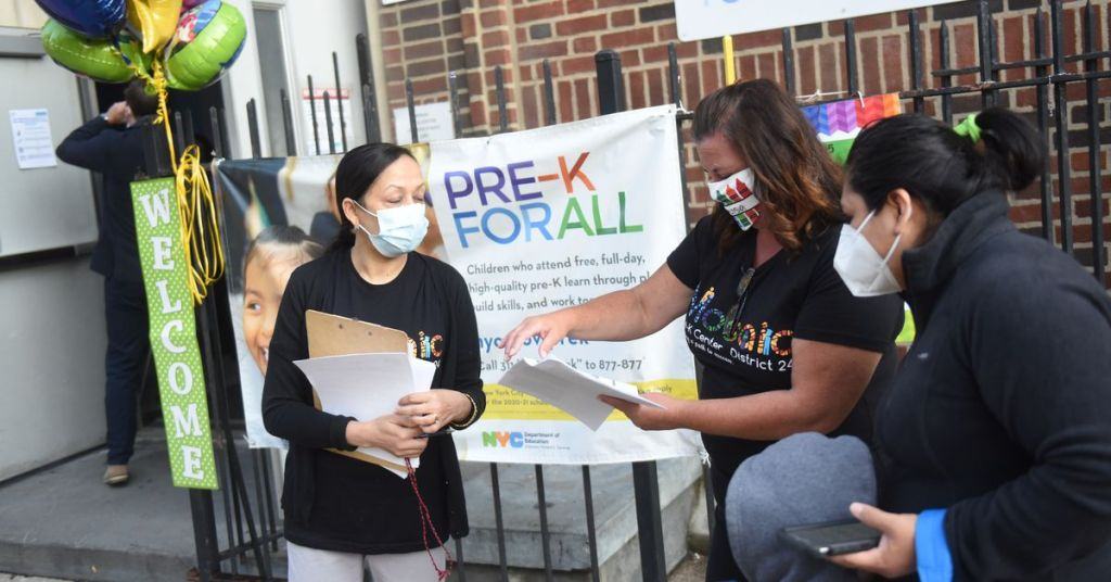 NYC preschools remain open, raising questions about safety and equity among staff