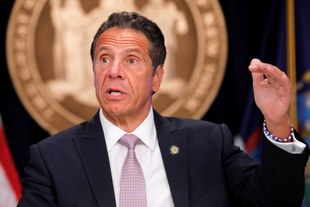 New York Gov. Cuomo says 'states are broke' and need federal funding to distribute