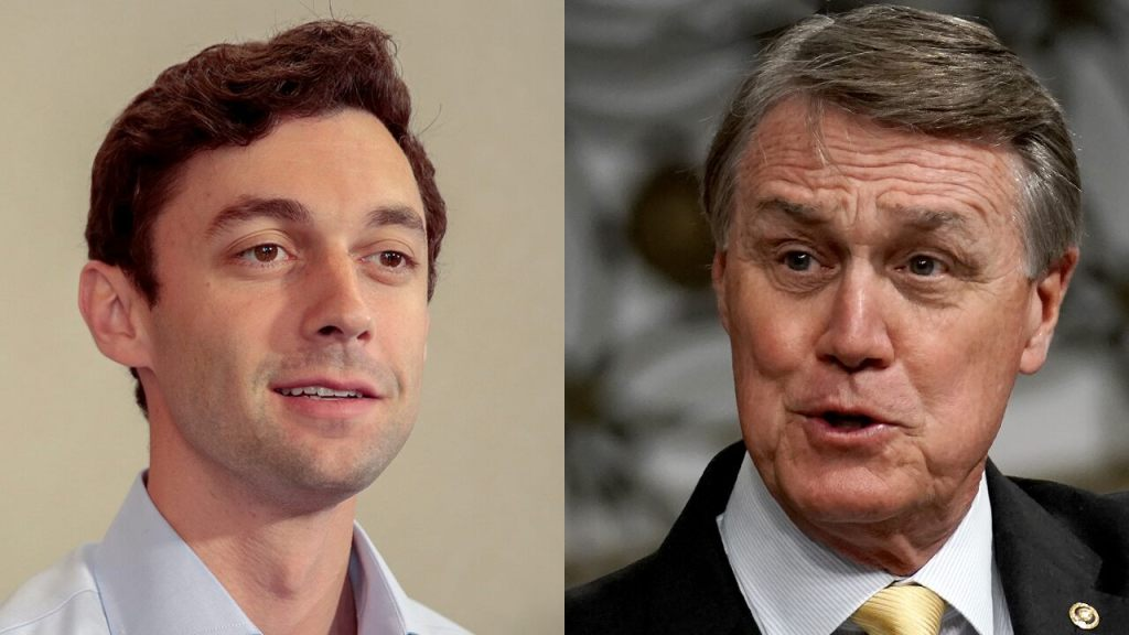 Perdue, Ossoff cast Georgia Senate runoff as battle for control of the nation
