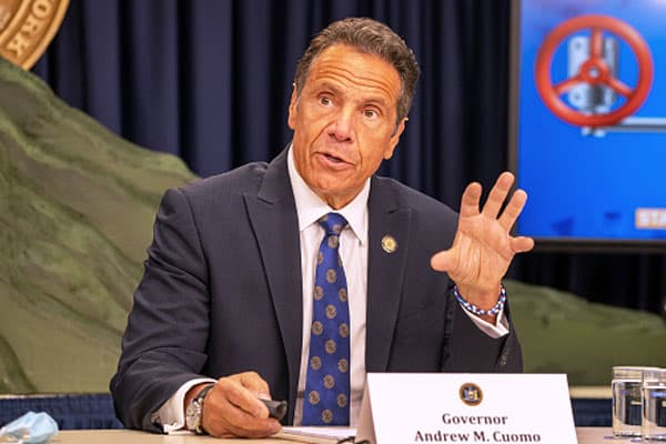 New York Gov. Andrew Cuomo holds press briefing on Covid response