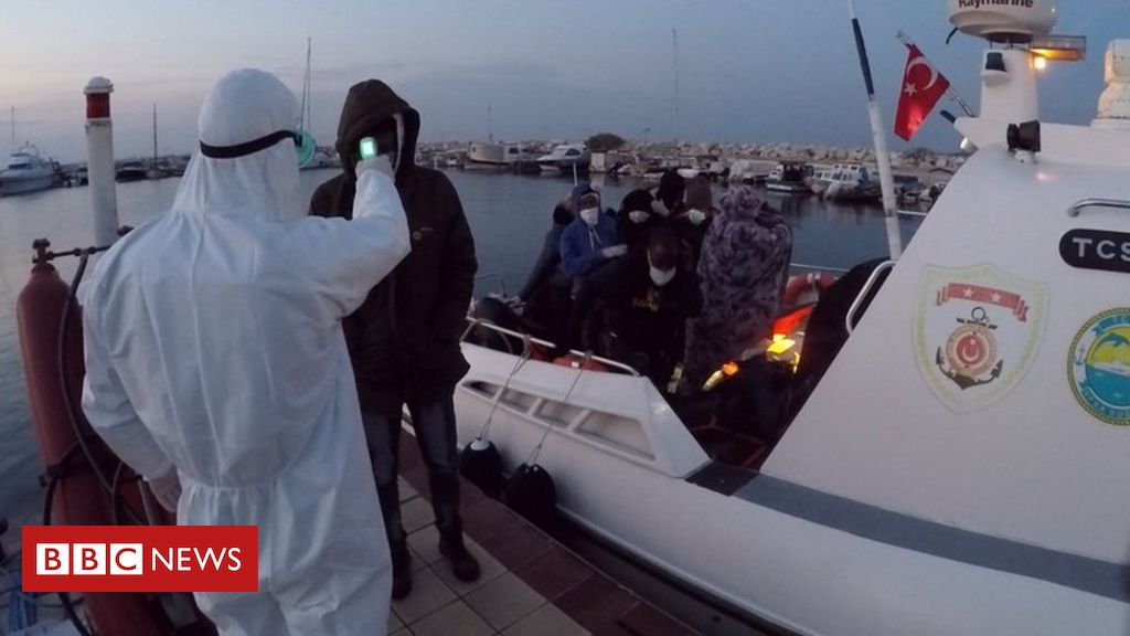 Pushbacks: Migrants accuse Greece of sending them back out to sea