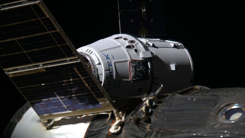 The experiment will be launched on a SpaceX Cargo Dragon capsule. Pic: ESA