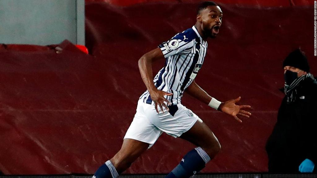 West Brom stuns Liverpool with late equalizer