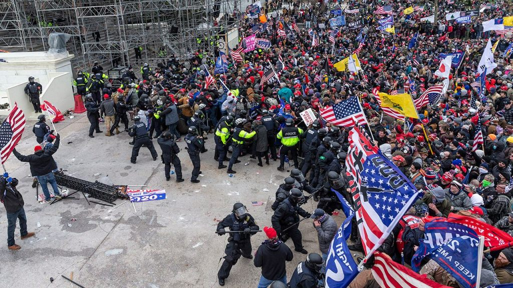 Capitol Police intelligence report before Jan. 6 riot warned 'Congress itself' could be targeted: report