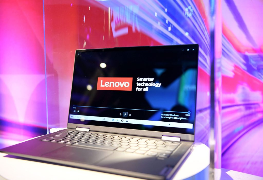 Chinese PC maker Lenovo soars 15% after Shanghai share listing plan
