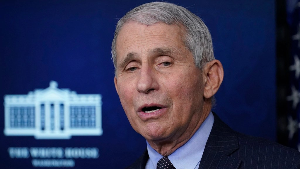 Fauci says coronavirus variants a 'wakeup call' to be nimble in vaccine development