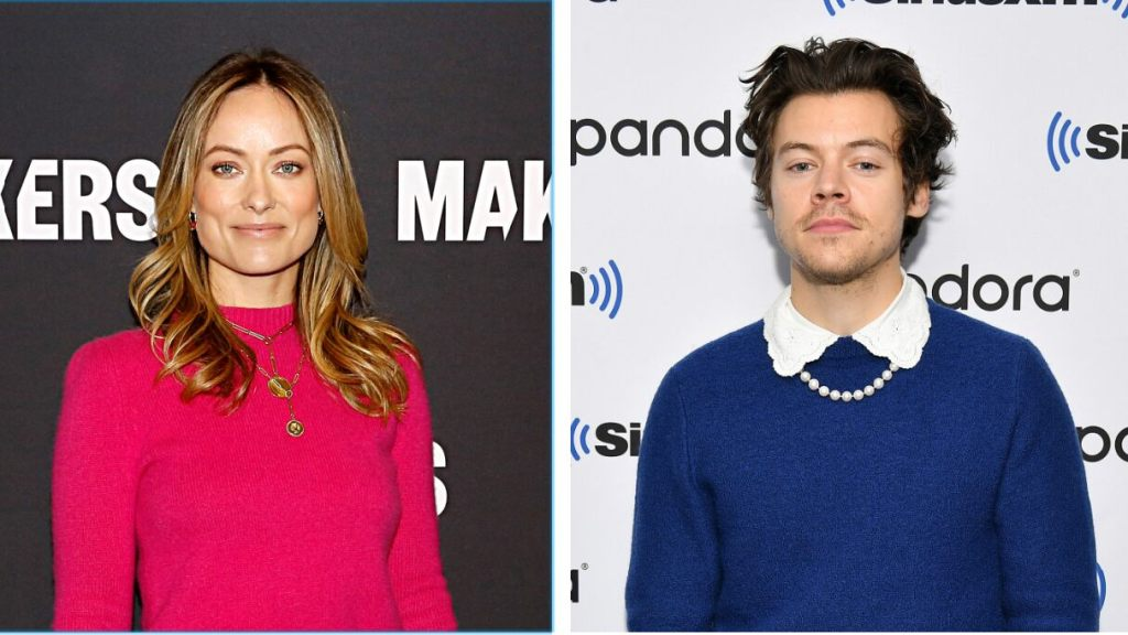 Harry Styles, Olivia Wilde spotted holding hands at wedding amid dating rumors