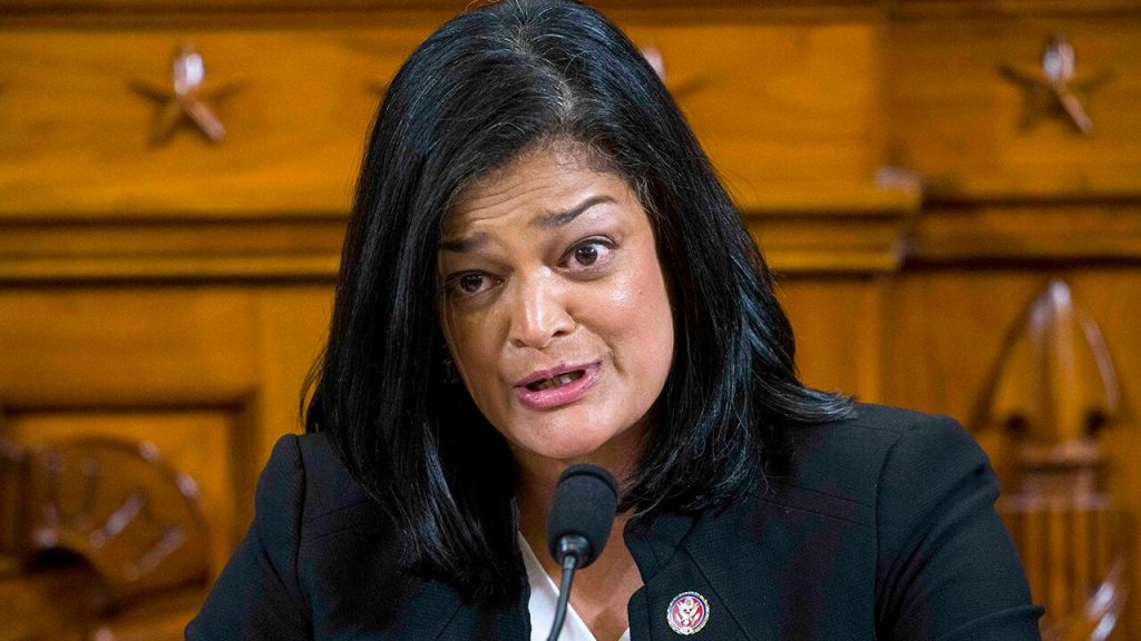 Jayapal tests positive for COVID-19, criticizes some Republicans for 'cruelly' not wearing masks