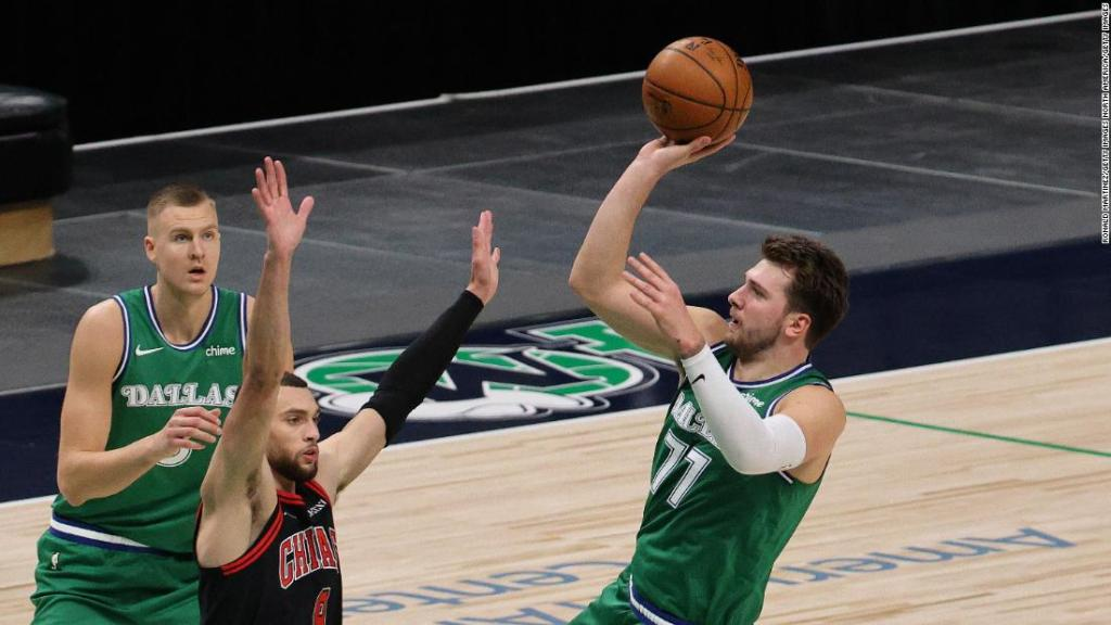 Luka Doncic surpasses Michael Jordan with yet another triple-double