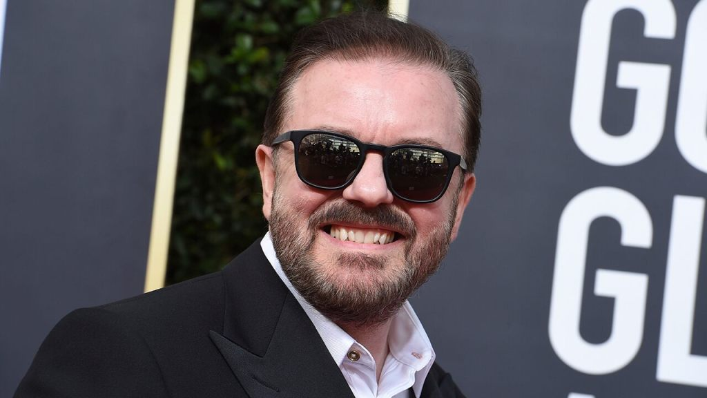 Ricky Gervais turns down chance to do comedy in space