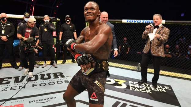 Israel Adesanya: From being bullied to UFC champion