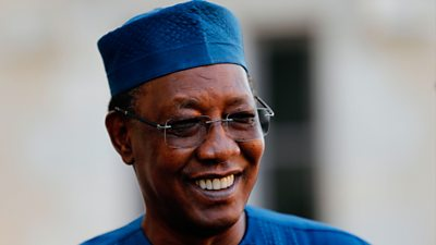 An image of Idriss Déby