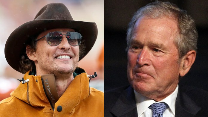 George W. Bush comments on Matthew McConaughey's potential run for governor of Texas: 'It's a tough business'