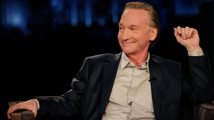 Bill Maher tests positive for coronavirus, 'Real Time' taping canceled