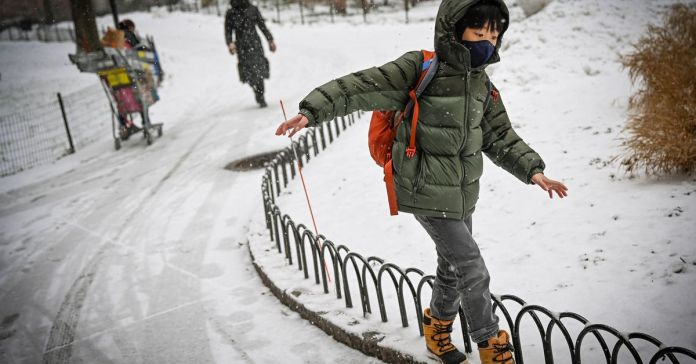 No more snow days? Not so fast, says NYC teachers union