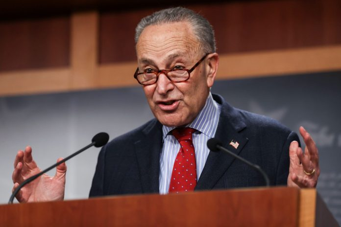 Schumer, McConnell testify at hearing on For the People Act election reform bill