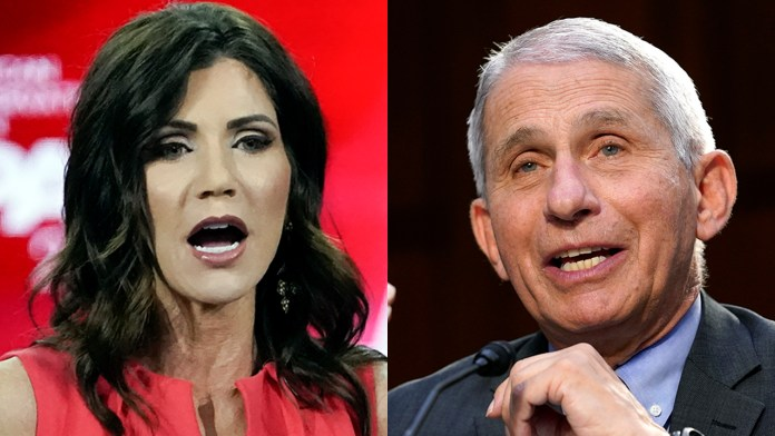 Kristi Noem slams Dr. Fauci in speech to North Carolina's GOP: 'Fauci is wrong – a lot'