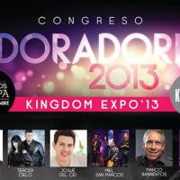 Congreso Adoradores 2013 :: Arena Ciudad de México, 14 al 16 de noviembre