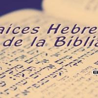 Raíces Hebreas de la Biblia (+ESTUDIO)