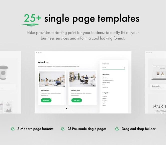 Ekko - Multi-Purpose WordPress Theme with Page Builder - 13