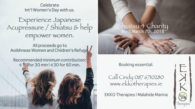 Shiatsu for Women Refuge - Wed