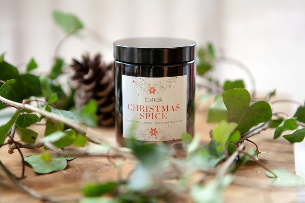 Christmas Spice Soy Candle handmade by Ekko Therapies