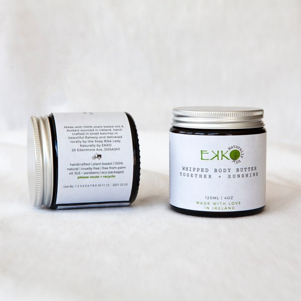 Organic Whipped Body Butter Together + Sunshine