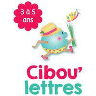 Cibou'lettres - 3 à 5 ans