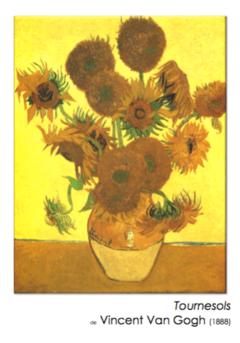 Des tournesols comme Van Gogh