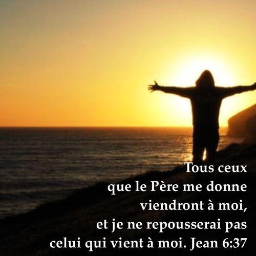 Jean 6:37-38