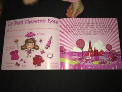Chut les enfants lisent : Le Petit Chaperon Rose et le Petit Chaperon Jaune
