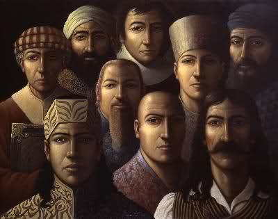 Les neuf inconnus