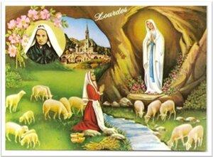 Les apparitions de la Vierge Marie