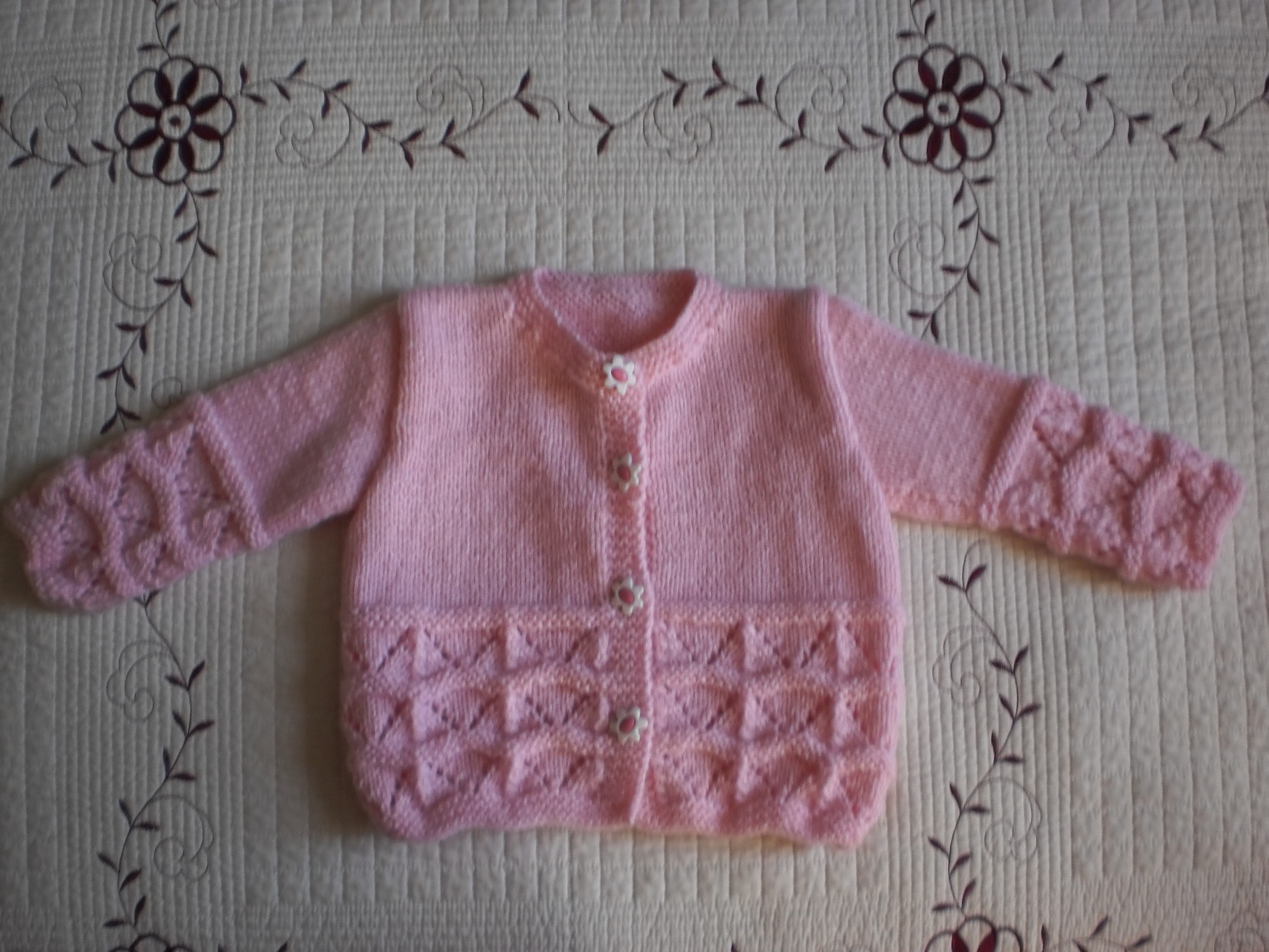 Modle Tricot Pull Fille 2 Ans