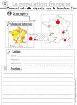 G2 la répartition de la population française