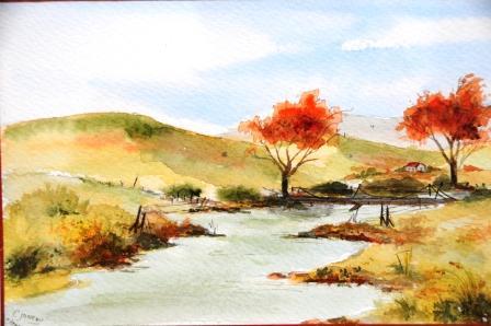 http janeaucathy eklablog com aquarelle paysage pleine a648867