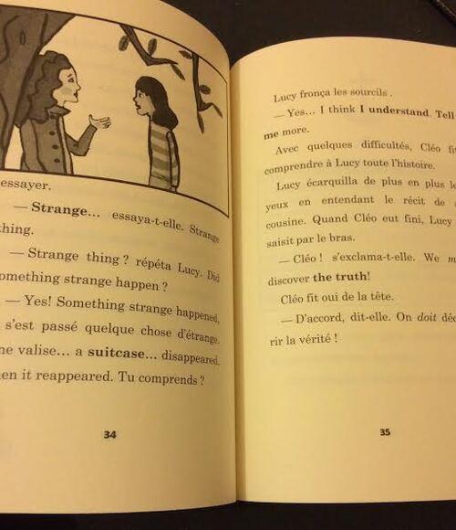 Chut les enfants lisent : Cleo Lefort Enquête à New York