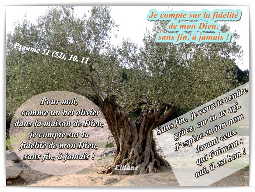 Je compte sur la fidélité de mon Dieu,sans fin, à jamais !
