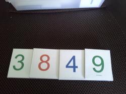 Cartons Montessori