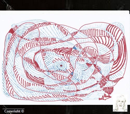 Dessin imaginaire 3 le serpent