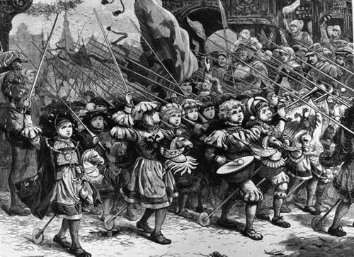 La croisade des enfants - A la conquête de Jérusalem