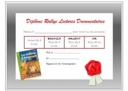 Rallye documentaire CE1-CE2 : questionnaires pour les livres 2012