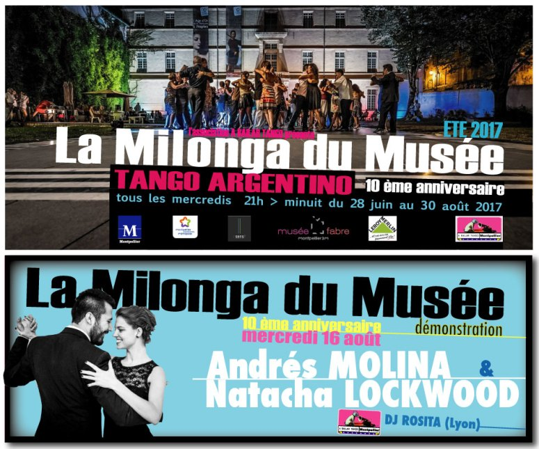 ★ Ce soir, mercredi 16 août , DEMO de Andrés MOLINA & Natacha LOCKWOOD à la MDM ★