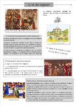 H4 : la vie au Moyen Age (le seigneur)