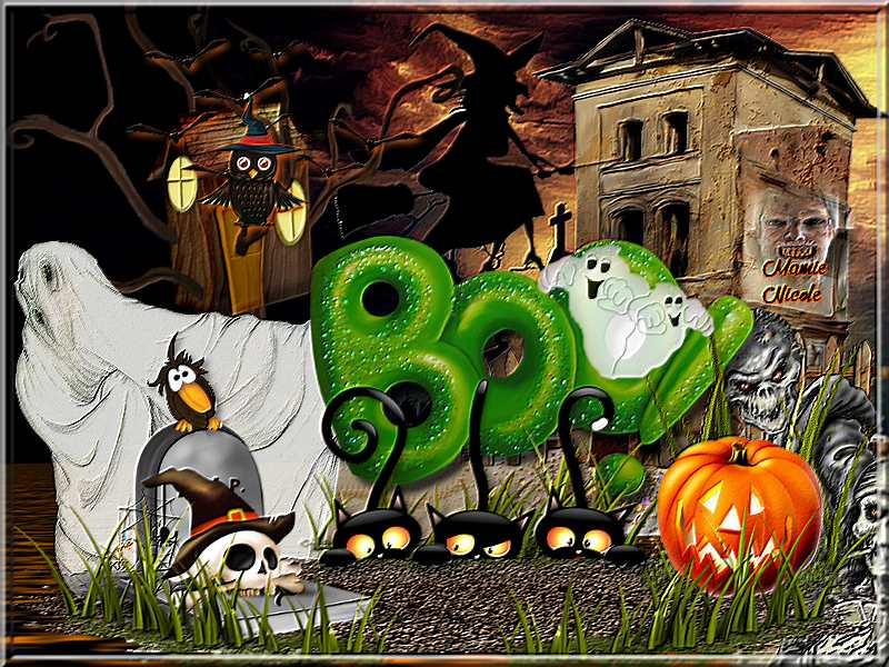 ♠♠défis clusters halloween Babouchka♠♠
