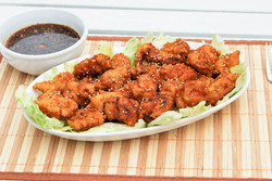 Honeyed Chicken Teriyaki - Poulet Teriyaki au Miel